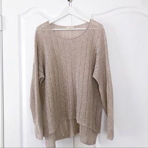 Eileen Fisher Organic Linen Cotton Sweater XL